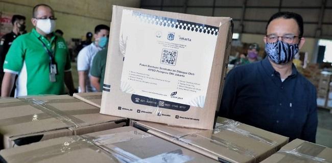 Kardus Bansos Tahap II Bertuliskan 'Dibiayai APBD DKI', Wakil Ketua DPRD: Ini Bentuk Pertanggungjawaban