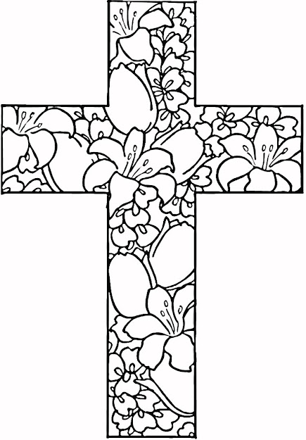 Coloring Pages Of Flowers To Print Out  Here Is Roundup Of  Religious  Easter