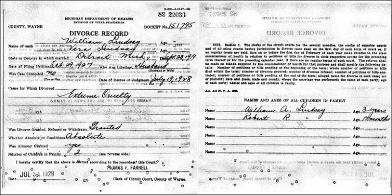 LINDSAY_William divorce from Vera_19 Jul 1928_DetroitWayneMichigan