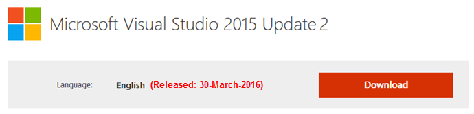 Download Visual Studio 2015 Update 2 (www.kunal-chowdhury.com)