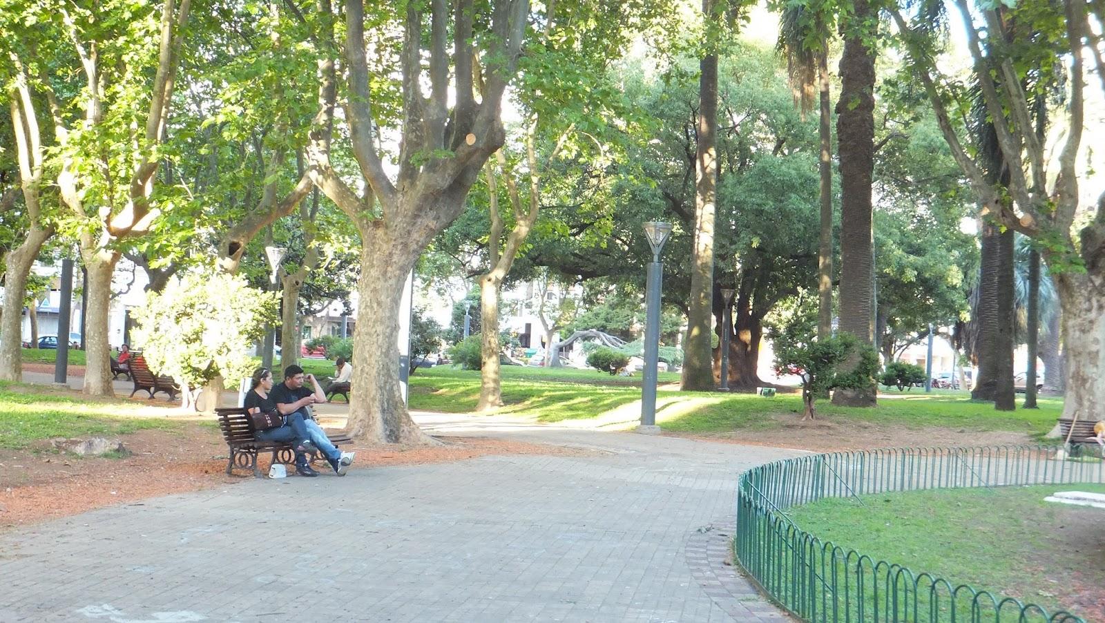 Plaza López, Rosario
