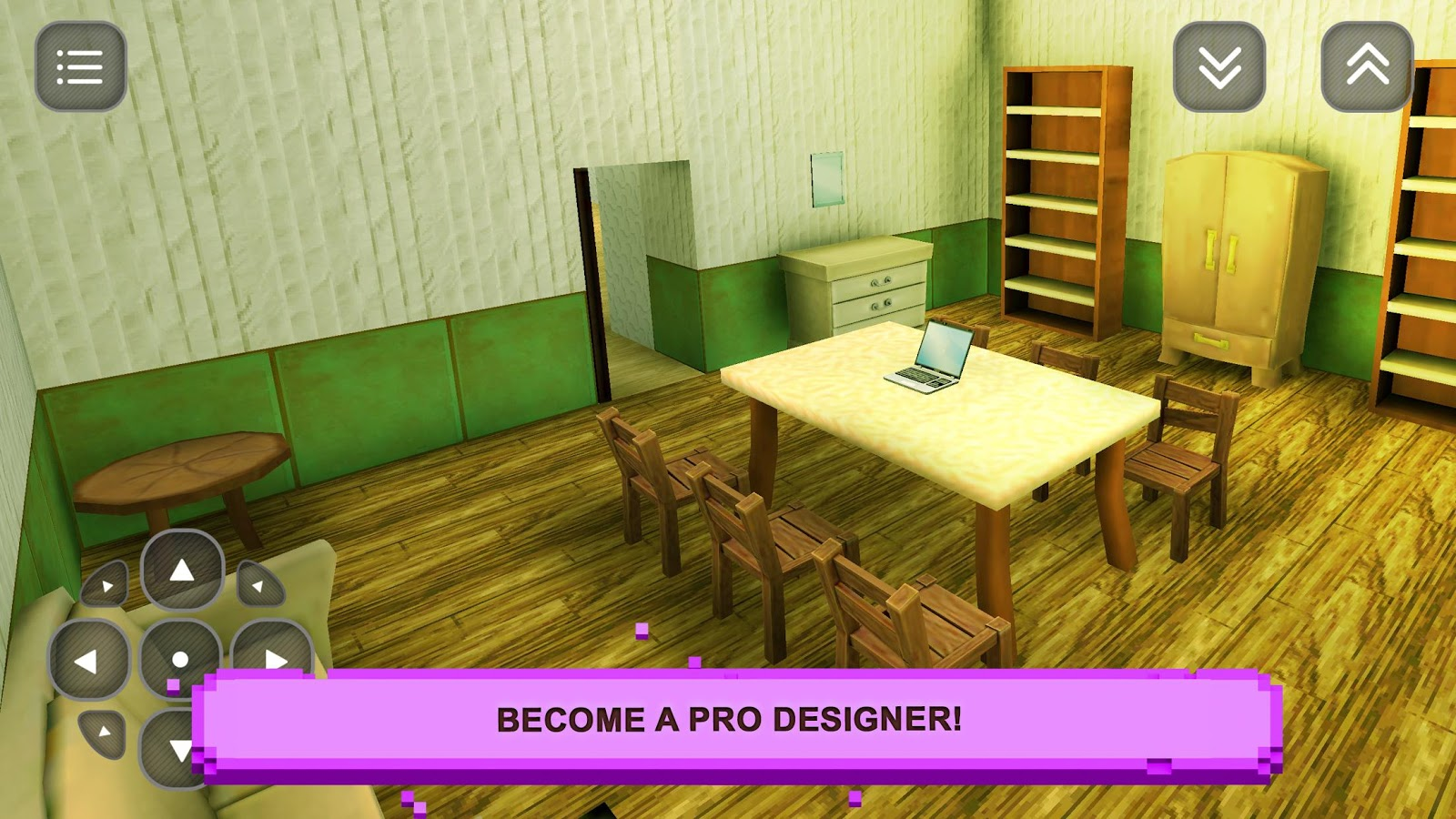 sim girls craft home design screenshot - Home Designs Games