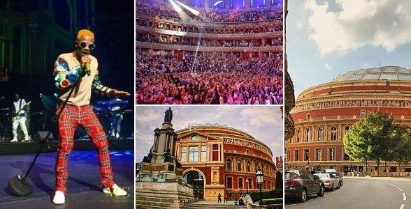 Checkout Beautiful Photos of the Royal Albert Hall Where Wizkid Made History (Photos)