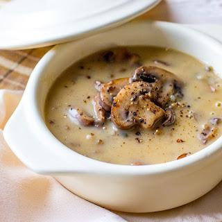 Slow Cooker Wild Mushroom Soup