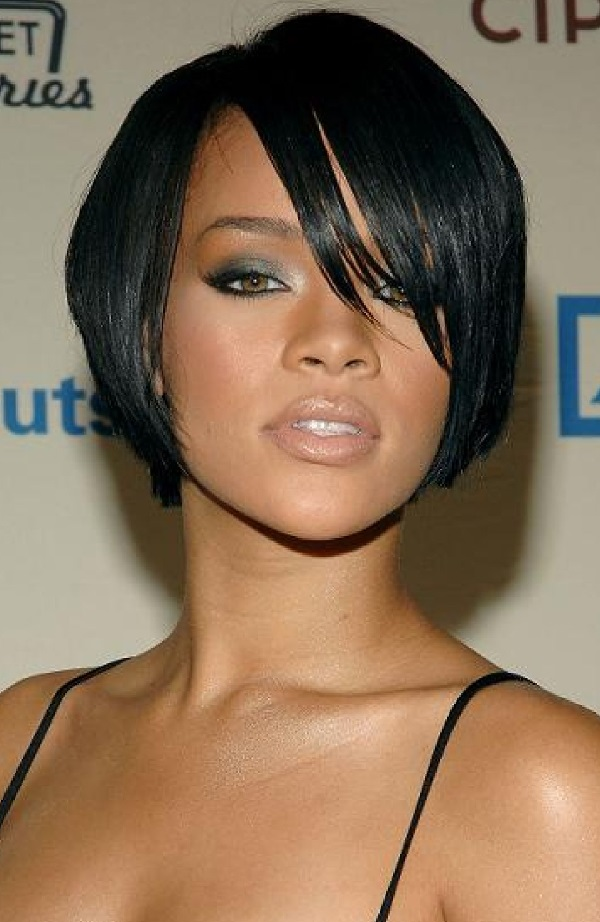 Elegant short hairstyles-black females 2018-2019 3