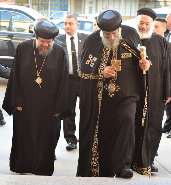 His Holiness Pope Tawadros II visit to St. Mark LA - DSC_0124.JPG