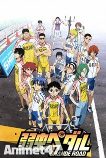 Yowamushi Pedal SS2 - Yowamushi Pedal: Grande Road 2014 Poster