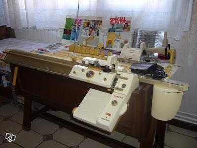 knitting machine museum diary