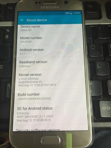 Mobile phone Repair and Unlocking: Samsung s6 baseband