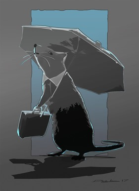 Rat Master illustration