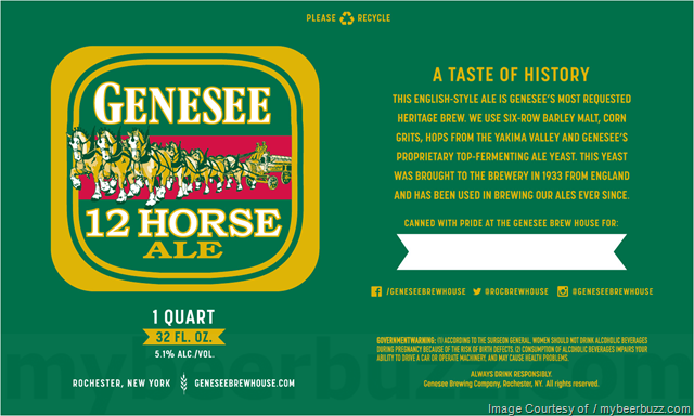 Genesee - 12 Horse Ale 32oz Cans