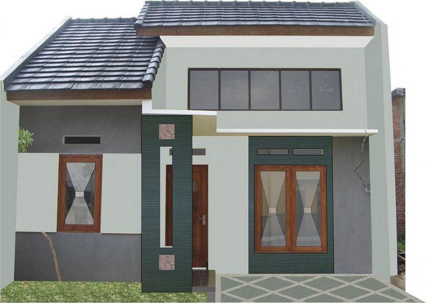 Layout Denah Rumah Type 36 2 Kamar Yang Bagus