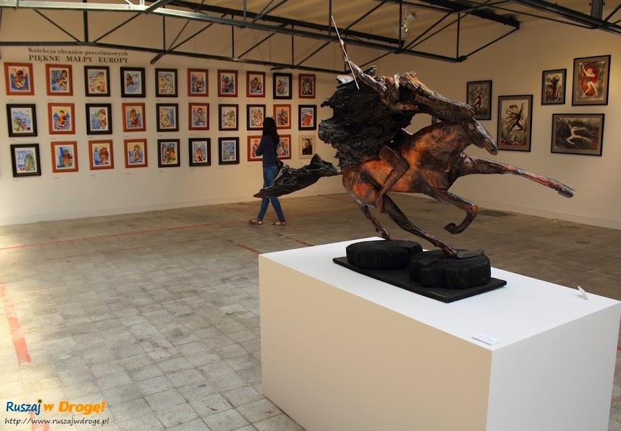 AS Ćmielów - wystawa Lubomira Tomaszewskiego i Adama Spała