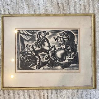 Umberto Romano Signed Lithograph