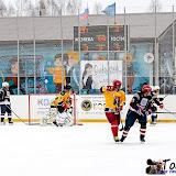На ледовой арене соревновались хоккейные команды