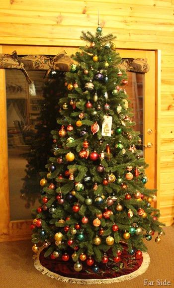 Shiny Brite tree two