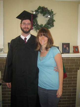 Matthew and April after graduation