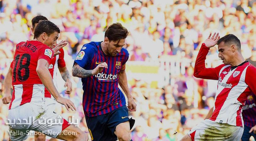 موعد مباراة برشلونة وأتلتيك بلباو