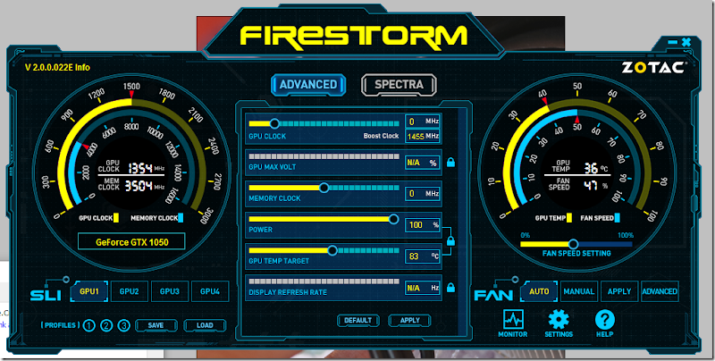 preview zotac firestorm