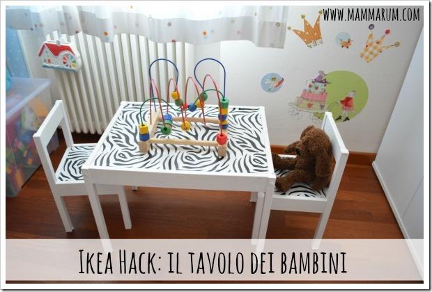 Tavolo Bambini Ikea.Mammarum Tavolo Per Bambini Ikea Il Restyling
