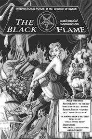 Cover of Various Authors's Book The Black Flame (Vol 5, No 3 and 4)