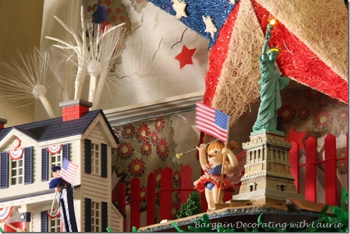 Statute of Liberty figure for 4th of July decor