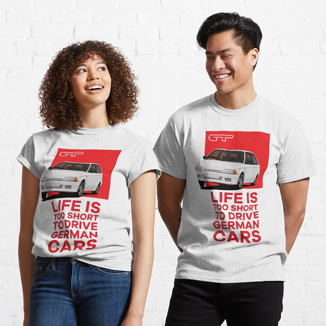 Life is too short to drive German cars - car humour - Citroën AX