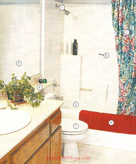 Bathroom– Housing – Photo Dictionary