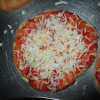 Pizza Baking Activity (Jr.KG.) 30-7-14
