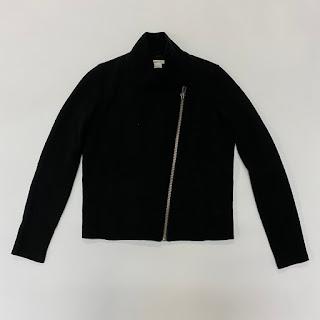 Helmut Lang Zip Front Sweatshirt