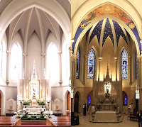 Before and After: St. John the Evangelist Catholic Church in Lambertville, New Jersey