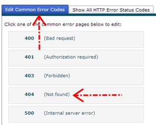 pada Mengedit 404 not found