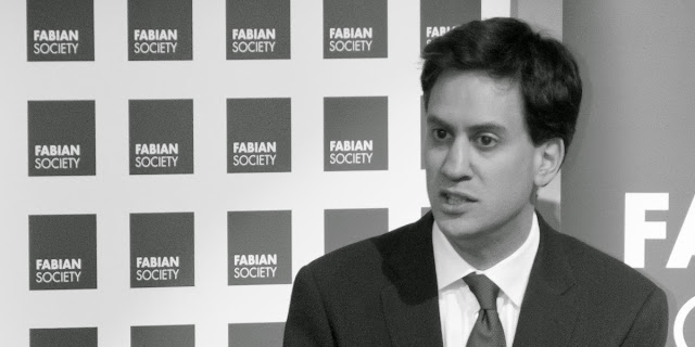 Ed Miliband at the Fabian Society