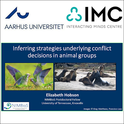 May 2016: I presented an invited talk at the Interacting Minds Centre at Aarhus University, in Aarhus Denmark.
