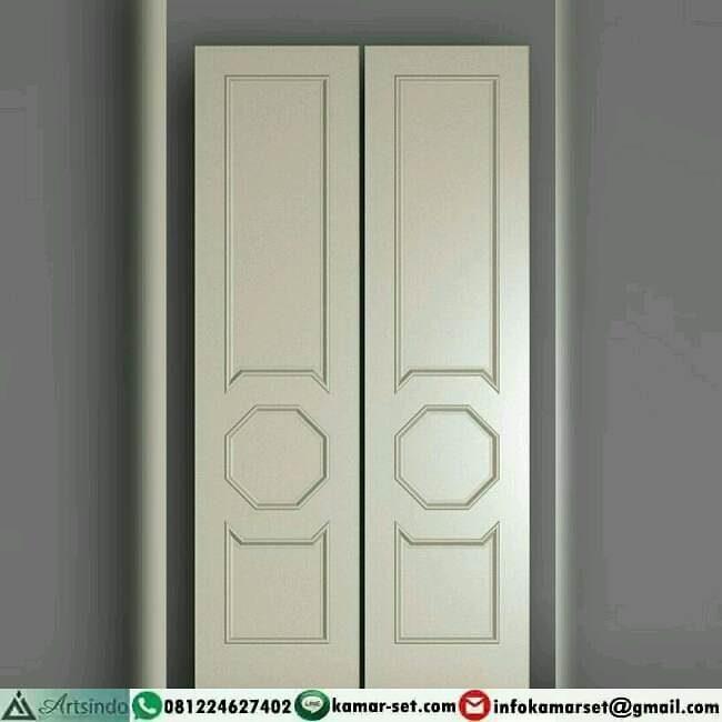 pintu dua daun ukuran kecil