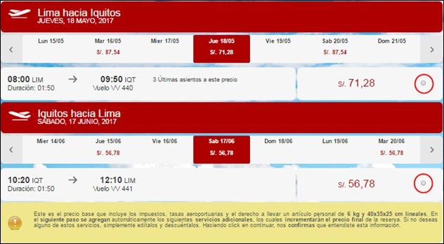 Abrir mi cuenta Viva Air Peru - 789