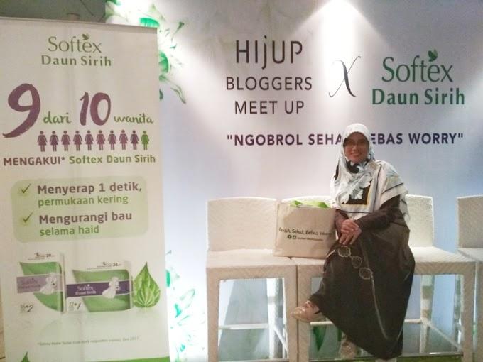 Ngobrol Sehat Bebas Worry bersama HIJUP dan Softex Daun Sirih
