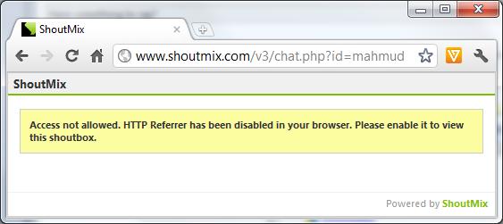 ShoutMix, chatbox untuk blogger (part 2)