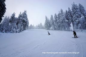 na zdjęciu trasa w Zieleńcu na narty
