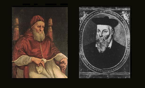 San Malaquias Y Nostradamus, Nostradamus