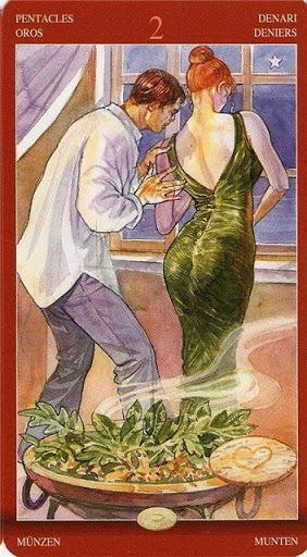 Таро сексуальной магии туз жезлов