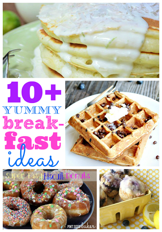 Over ten yummy breakfast ideas at #gingersnapcrafts #linkparty #feature #recipe _thumb[1]