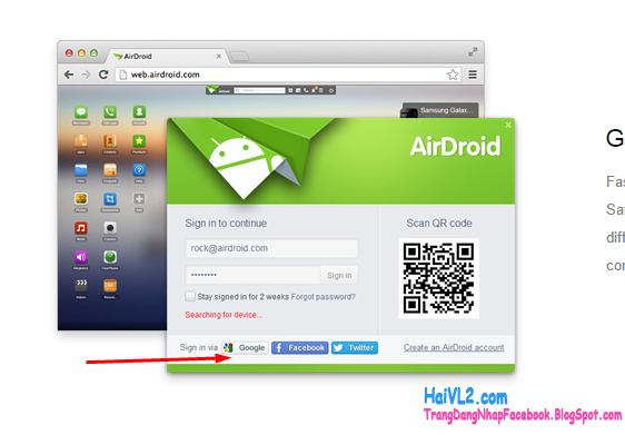 đăng ký airdroid