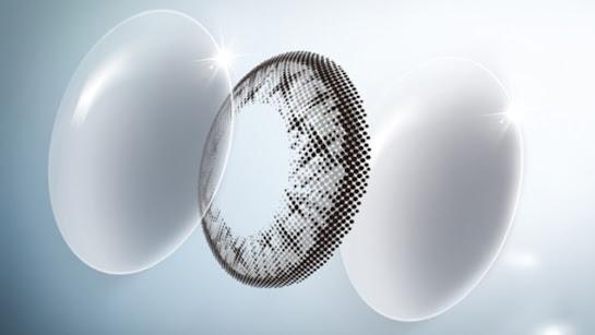 Dot Matrix Miacare Contact Lens