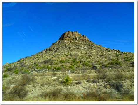 drive to Big Bend