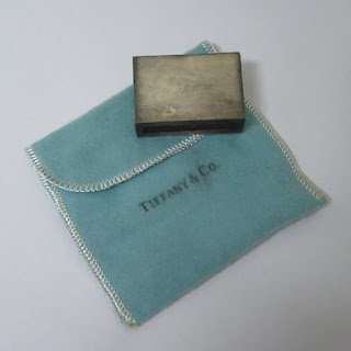 Tiffany & Co. Engraved Match Box