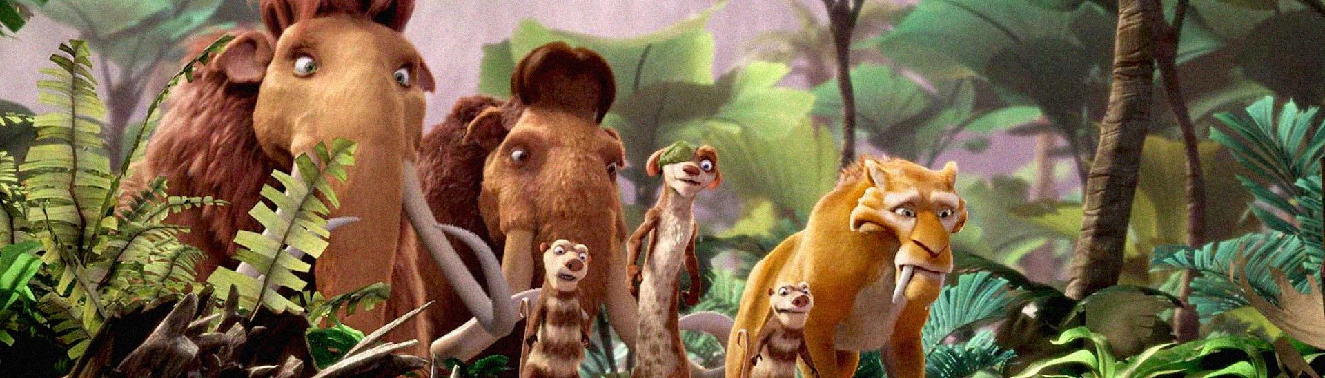 Baner filmu 'Epoka Lodowcowa 3: Era Dinozaurów'