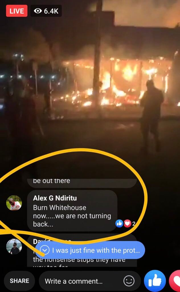 Who is ALEX Nderitu from Twitter trending.