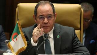"""Canciller argelino: """"Nuestro país es muy fuerte y no tenemos miedo a nadie""""."""