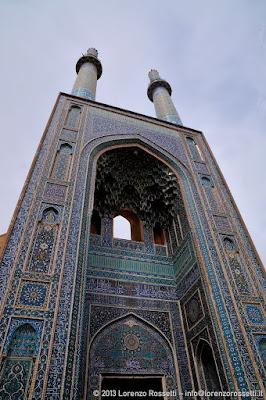 Yazd, moschea del Venerdì